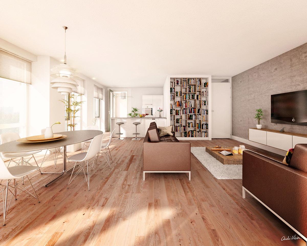 Keuken Nieuwbouw Open : Nieuwbouw halfopen bebouwing centrum meulebeke immo schepens